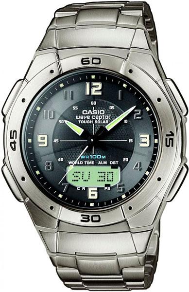 Наручные мужские часы Casio WVA-470TDE-1A